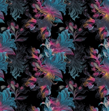 Multicolor Linear Floral RPT Preview