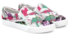 shoes_abstract floral